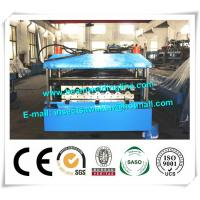Quality Metal PU Sandwich Panel Production Line Steel Floor Decking Forming Machine for sale