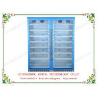China OP-1104 Guangzhou Manufacturer Double Glass Doors Multi Shelves Air Cooling Refrigerator on sale