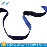 China Decorative Coloured Fold Over Elastic Webbing Straps For Underwear on sale