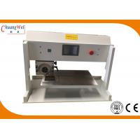 China V Cut Pcb Depaneling Equipment  Pcb Separator Machine With Circular / Linear Blade on sale
