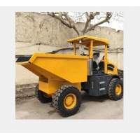 Quality 4000KG Loading Crawler Dump Truck With 2m3 Bucket Capacity for sale
