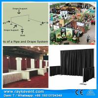 Best RK High quality  trade show banner pipe and drape kit trade show booth ideas wholesale