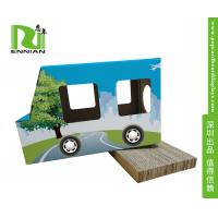 Best Fashion Trapeziform Cardboard Display Stand 100% Recycle For Pet Products wholesale