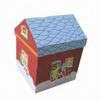 Buy cheap House-shape Cardboard Gift Box from wholesalers