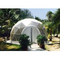 China Fashion Clear Dome Tent For Family , Waterproof Party Dome Tent With PVC Wall on sale