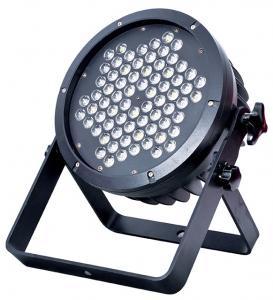 Quality 72pcs*1W3W par lights/outdoor par lights/spotlights/stage effec tlights waterproof IP65 for sale