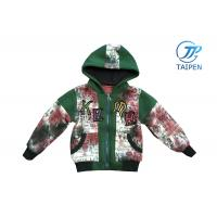 China Autumn Outdoor Kids and Toddlers Hooded Fleece Jacket / Winter Baby Fleece Jackets on sale