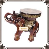 Best home decoration items art craft stool modern and fashion elephant figurines A0547M wholesale