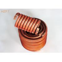 Quality Oil Coolers Compact Design Finned Tube Coils / Water Heating Coils for sale