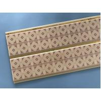 Quality 10 Inch Water Resistant Bathroom Wall Panels With PVC Resin Material for sale