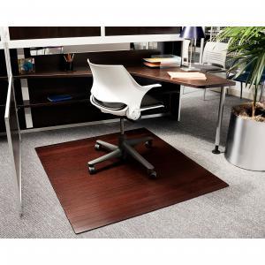China Antistatic Decorative Wooden Floor Plush Carpet Chair Mat Carpet Protector on sale