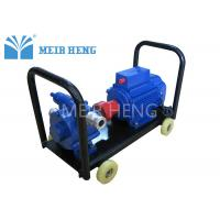 Quality Cast Iron Self Priming Vane Oil Pump / 4KW Sliding Rotary Vane Pump for sale