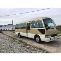 Quality LHD 2016 second hand /used toyota coaster mini coach for sale with 30 seats for sale