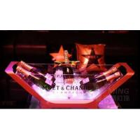 Buy cheap Moet Chandon Champagne Bottle Glorifier Cooler LED Illuminated Ice Bucket from wholesalers