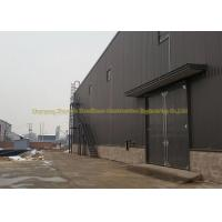 Quality Q345 Prefabricated Warehouse Steel Structure Garage ASTM BS DIN Standard for sale