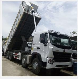 Quality 8×4 Sinotruk Howo A7 371hp 12 Wheeler Dump Truck  Fuel Tank 300L for sale