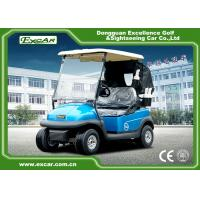 Quality A1S2 6*8V Battery GRAZIANO Electric Golf Car With Custom Bages / Cover for sale