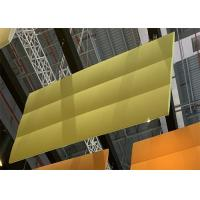 China Durable Felt Ceiling Baffles Sound Absorption , Multi Colored Hanging Sound Baffles on sale