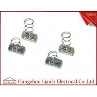 Quality Spring Nut With / Without Spring Steel Galvanized Strut Channel Accessories for sale