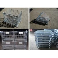 Quality Foldable Box Pallet Type and Steel Material pallet for sale