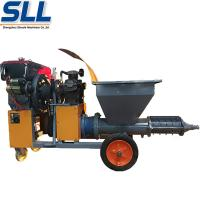 Buy cheap Automatic Cement Mortar Spraying Machine , Cement Spray Plaster Machine from wholesalers