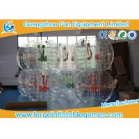Quality Clear Soccer Bubble Inflatable Hamster Ball 1.2m / 1.5m Dia For Rental for sale
