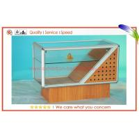 China Durable Aluminum Glass Display Cabinets , Recyclable Jewelry Display Case on sale