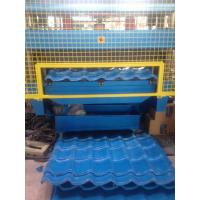 Quality 5 Ton Hydraulic Uncoiler G.i Coil Roof Panel Roll Forming Machine Customized Profile for sale