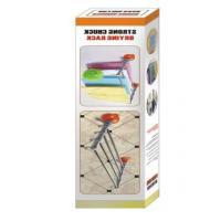 China Bathroom Rack Plastic Clothes Hangers Easy Installation With Strong Suction Cup on sale