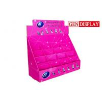 Best Shoes Counter Display Stands  , POP Cardboard Counter Display With Dividers wholesale