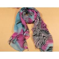 Quality Ladies 2013 new Fashion silk Scarf pink and blue leopard print polyester infinity scarves for women for sale