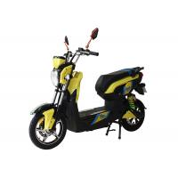 Quality 500W Adult Electric Motorcycle / Electric Scooter With Pedals for sale
