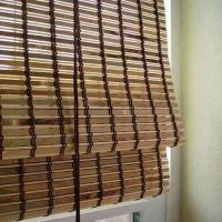 Quality Customized Outdoor Pvc Blinds , Pvc Bamboo Shades Natural Dyed Color for sale