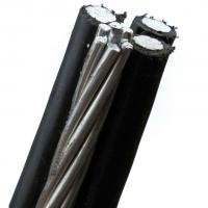 Quality PE / XLPE Insulation Muti Core Aluminum Conductor Drop Wire 0.6KV / 1KV for sale