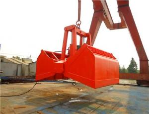 Quality Waste Treatment 25T Electric Hydraulic Clamshell Bucket for sale