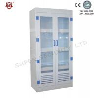 China Laboratory Medicine Medical Storage Cabinet with Double Glass Door PPM512045G on sale