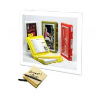 China Fashion Memo book with phone frame pen name card holder on sale