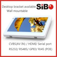 Best China Factory Industrial HMI 7 Inch Wall Mount POE Touch Panel Support Power Over Ethernet wholesale