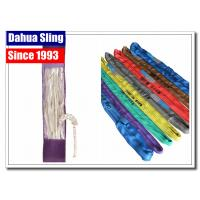 Multi Colored Endless Round Slings 200lb Vertical Capacity Abrasion Resistant