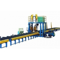 Quality Stable Speed T Type Submerged Arc Welding H Beam Production Line for sale