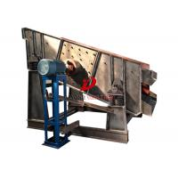 Buy cheap High Amplitude Single Deck Sand Gravel Circular Motion Screen With 22kw Power from wholesalers