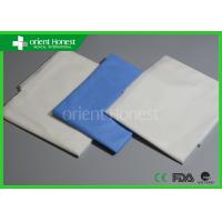 China Medical Pp Or Sms Flat Disposable Hospital Bed Sheets With Pillow Case on sale