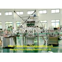 Cheap Servo / Electric Driven 3 - In - 1 Linear Filling Machine Easy To Operate for sale