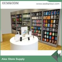 China Phone accessories rack cell phones display decoration electronic display rack for shops on sale