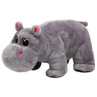 Quality Big eye Grey Hippo Plush Toys for sale