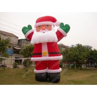 Best OEM Oxford Blow Up Cartoon Characters Giant Inflatable Santa Claus wholesale