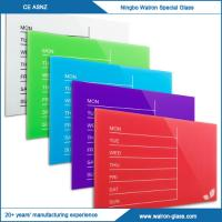 Best Weekly Glass Magnetic Dry Erase Board wholesale