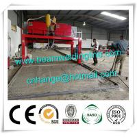 Quality Trailer Beam Horizontal Welding Machine H Beam Production Line For Steel Construction for sale