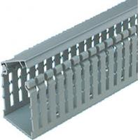 Quality Combustion - proof durable PVC grey Solid Wiring Ducts for cable tray cover for sale