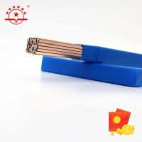 Quality Round Phos Copper Brazing Rod 450mm - 550mm for sale